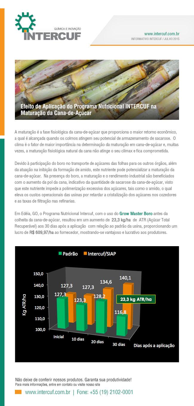 Intercuf - Informativo Julho 2015